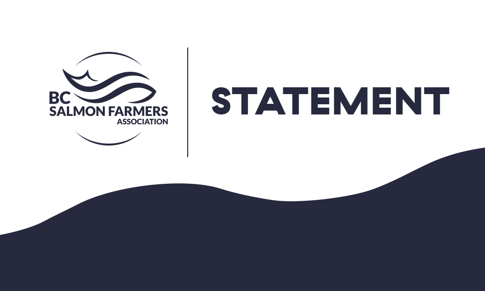 Statement: Sea Lice Report Faulty – Salmon Farmers Committed To Effective Management