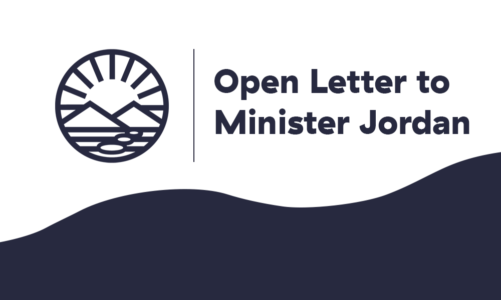 Open letter to Minister Jordan: Your decision to close Discovery Island area salmon farms puts at risk 1,500 rural coastal jobs
